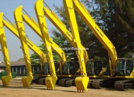 Alat Berat - Excavator Long Arm