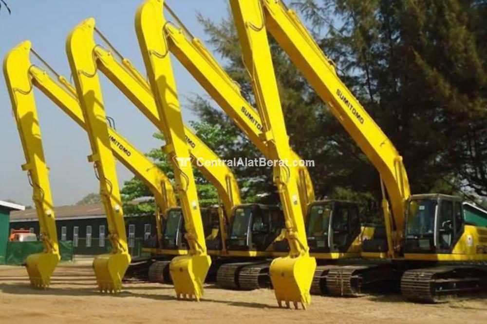 Alat Berat - Excavator Long Arm