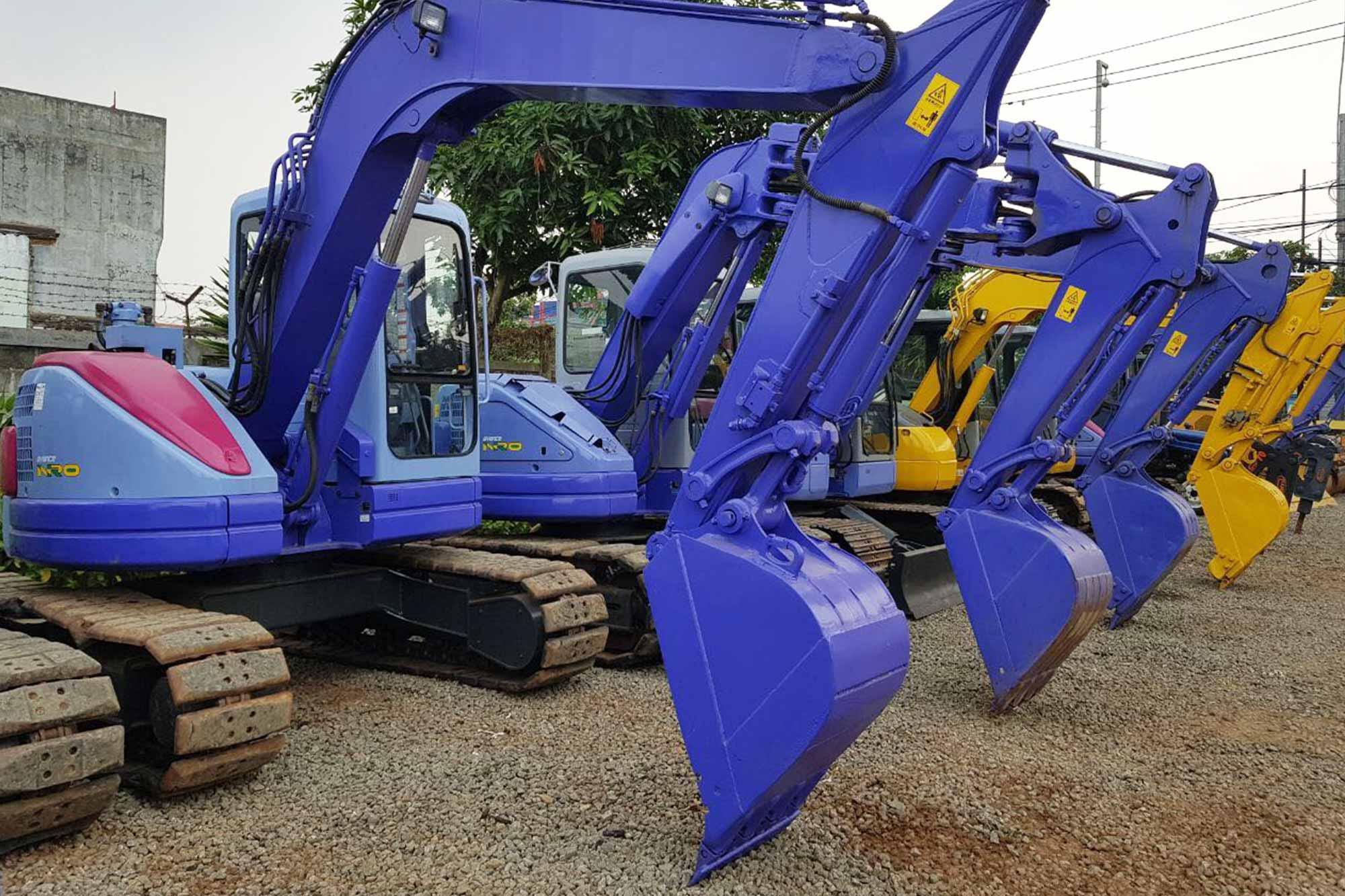 rental excavator