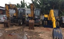 KOMATSU PW60 Excavator