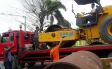Transportasi Alat Berat (Self-Loader)