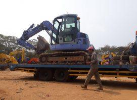 rental self loader - jasa transportasi alat berat