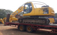 rental self loader - jasa transportasi alat berat