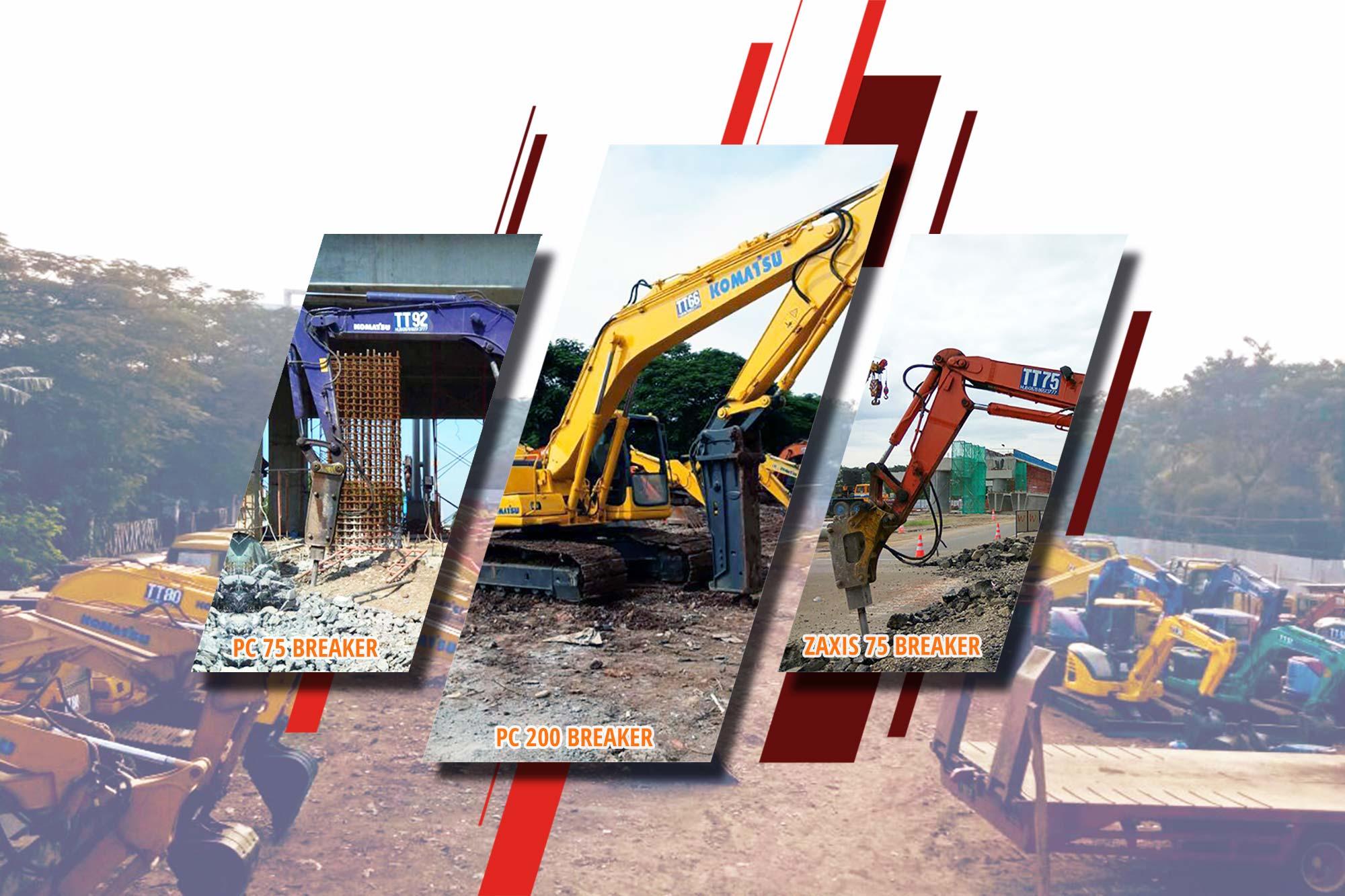 Excavator Breaker
